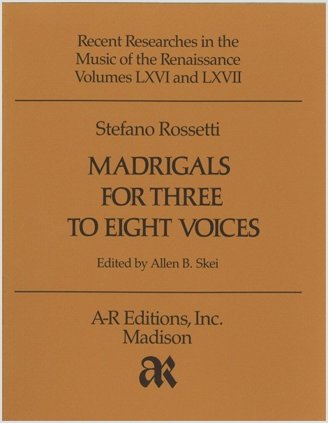 Rossetti: Madrigals for Three to Eight Voices