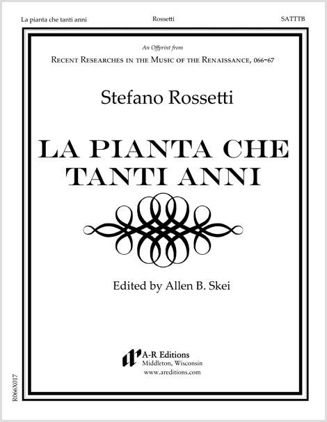 Rossetti: La pianta che tanti anni