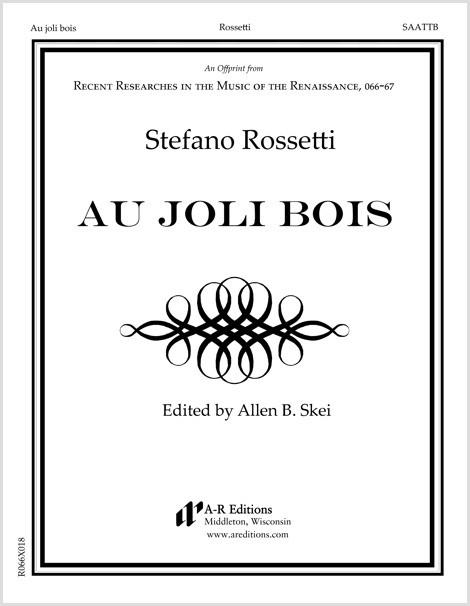 Rossetti: Au joli bois