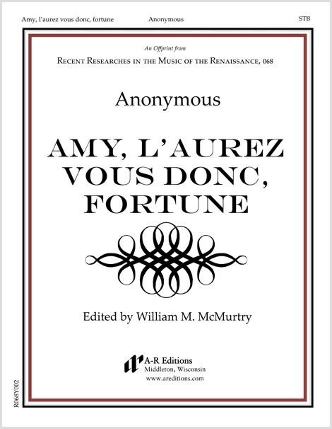 Anonymous: Amy, l'aurez vous donc, fortune