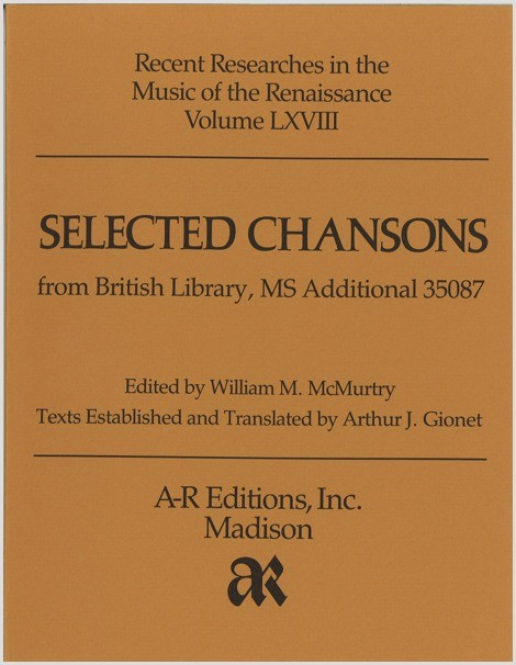 Selected Chansons from MS Additional 35087