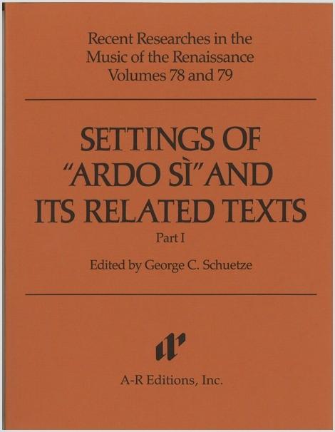 "Settings of ""Ardo si,"" Part 1"