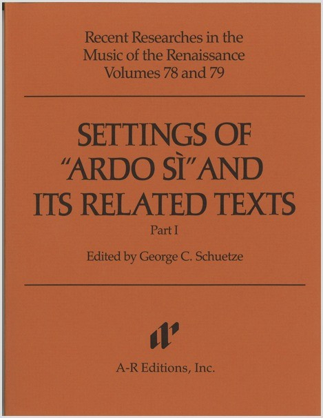 """Settings of """"Ardo si"""" and Its Related Texts"""
