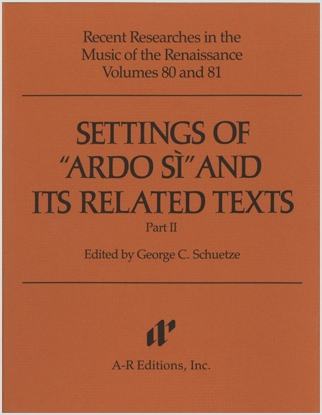 "Settings of ""Ardo si,"" Part 2"