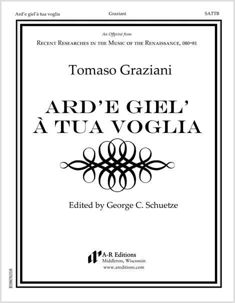 Graziani: Ard'e giel'à tua voglia