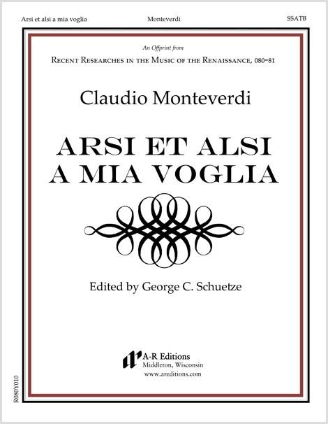 Monteverdi: Arsi et alsi a mia voglia