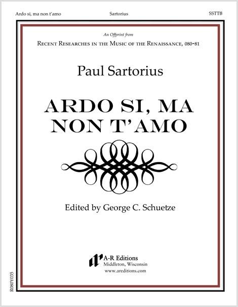 Sartorius: Ardo si, ma non t'amo