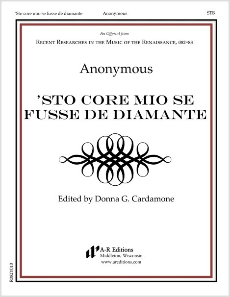 Anonymous: 'Sto core mio se fusse de diamante