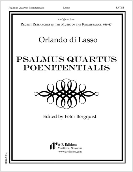 Lasso: Psalmus Quartus Poenitentialis
