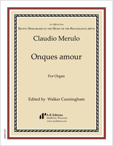 Merulo: Onques amour