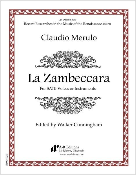 Merulo: La Zambeccara