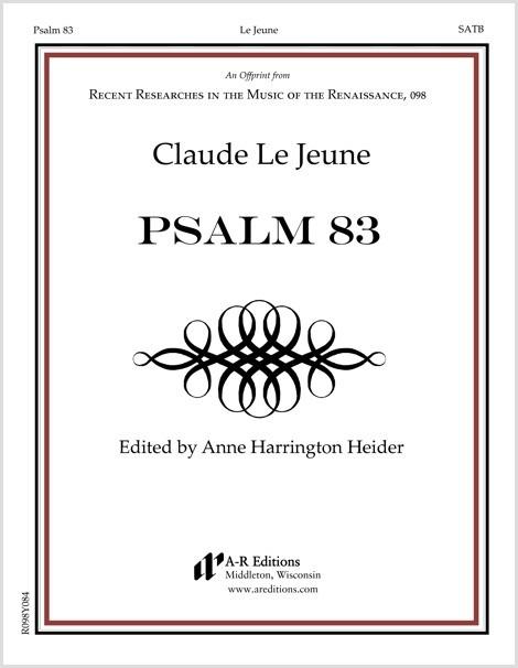Le Jeune: Psalm 83
