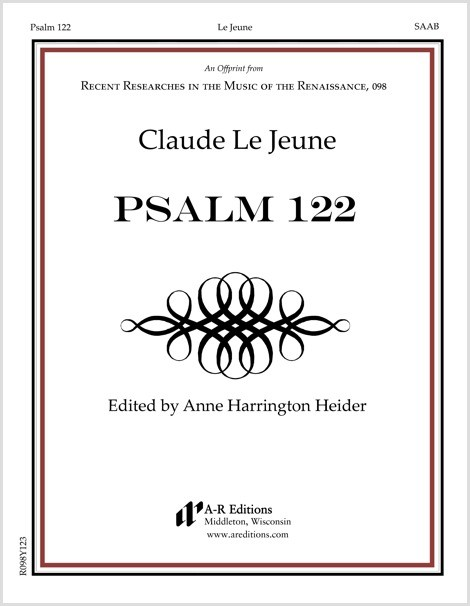 Le Jeune: Psalm 122