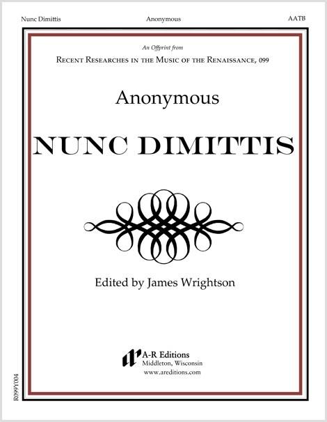 Anonymous: Nunc Dimittis