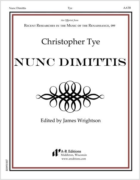 Tye: Nunc Dimittis