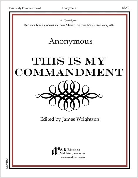 Anonymous: This Is My Commandment