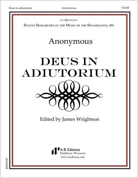 Anonymous: Deus in adiutorium