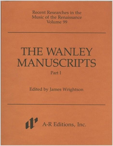 The Wanley Manuscripts