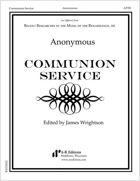 Anonymous: Communion Service