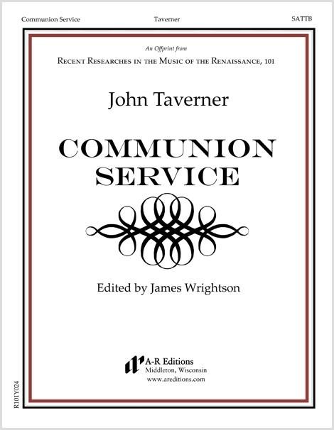 Taverner: Communion Service