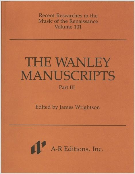 The Wanley Manuscripts, Part 3
