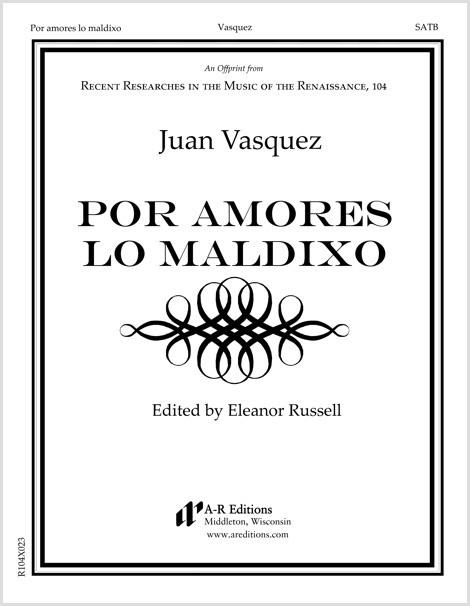 Vasquez: Por amores lo maldixo