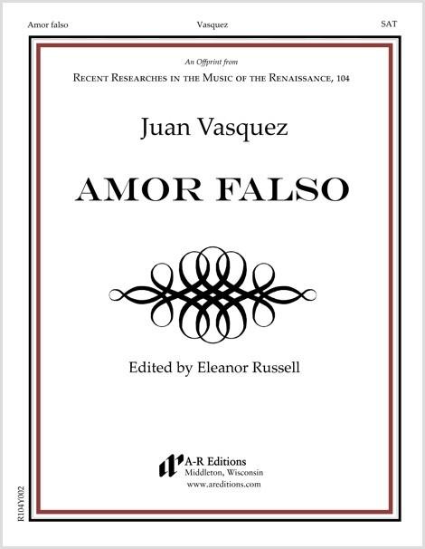 Vasquez: Amor falso