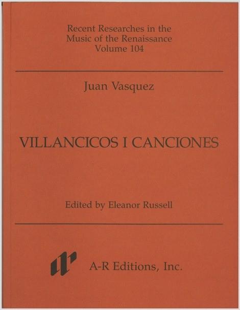 Vasquez: Villancicos i canciones
