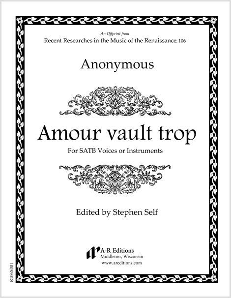 Anonymous: Amour vault trop