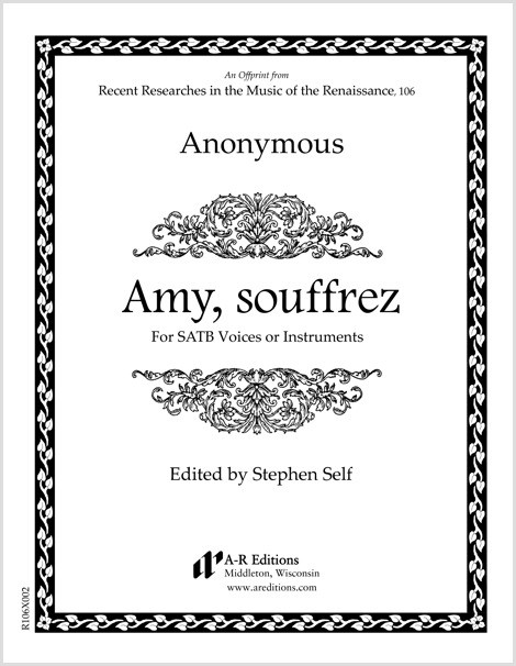 Anonymous: Amy, souffrez