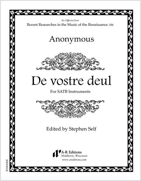 Anonymous: De vostre deul