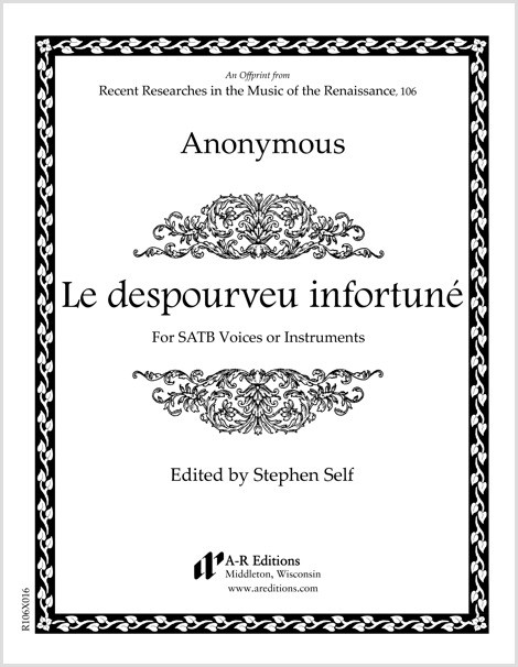 Anonymous: Le despourveu infortuné