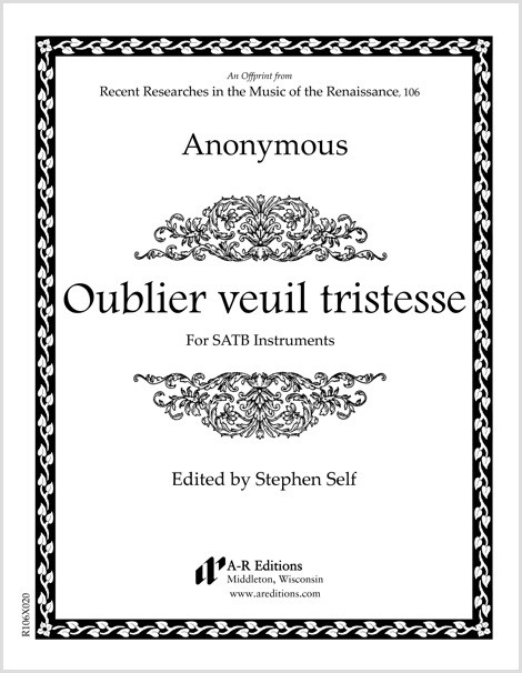 Anonymous: Oublier veuil tristesse