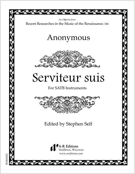 Anonymous: Serviteur suis