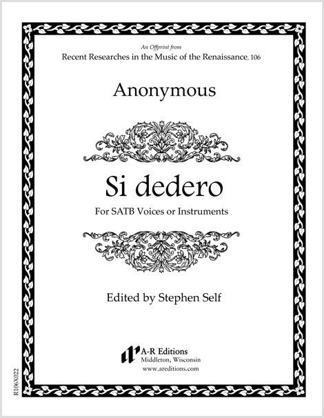 Anonymous: Si dedero