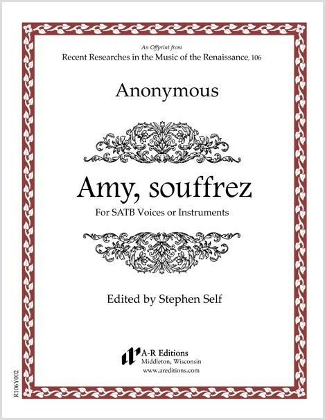 Anonymous: Amy, souffrez