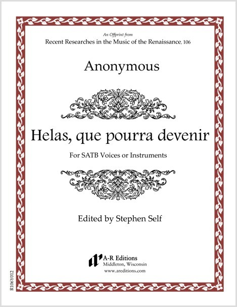 Anonymous: Helas, que pourra devenir