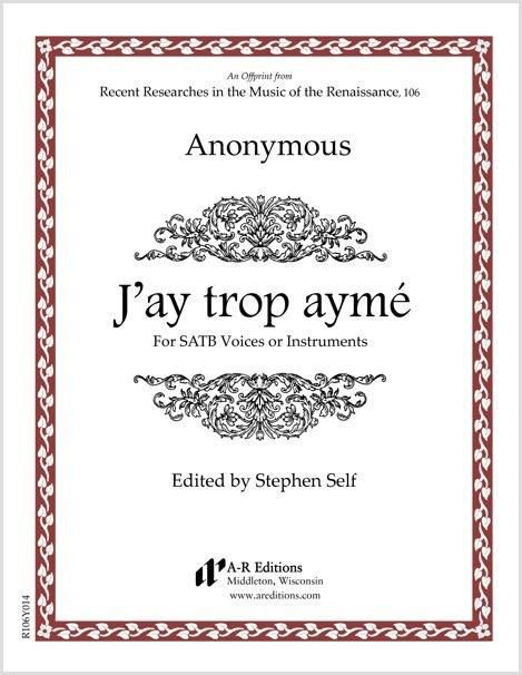Anonymous: J'ay trop aymé