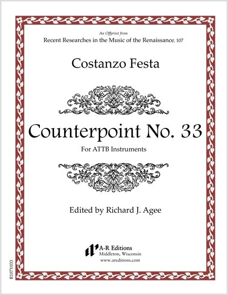 Festa: Counterpoint No. 33