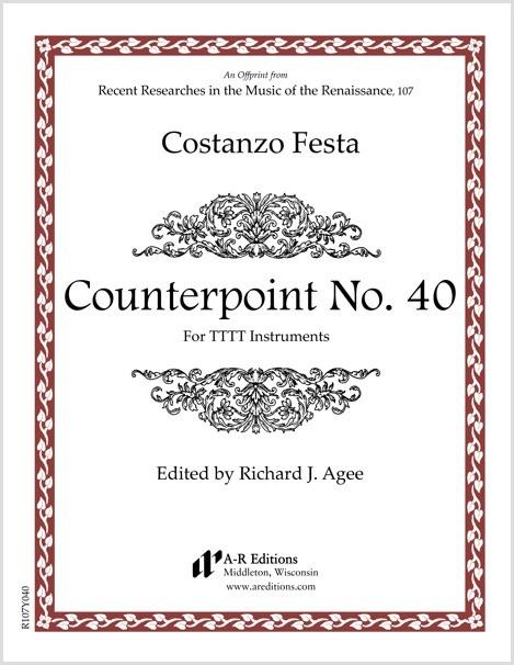 Festa: Counterpoint No. 40