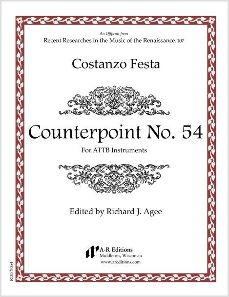 Festa: Counterpoint No. 54