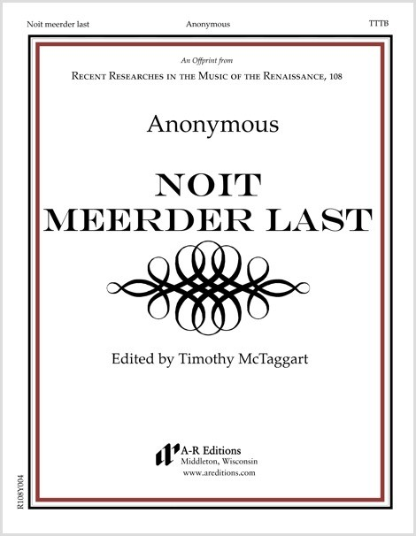 Anonymous: Noit meerder last