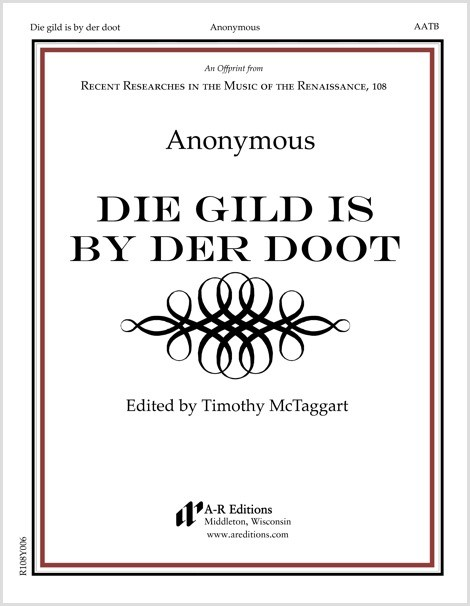 Anonymous: Die gild is by der doot