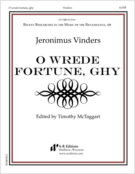 Vinders: O wrede fortune, ghy