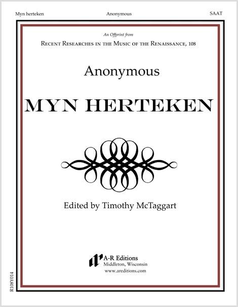 Anonymous: Myn herteken