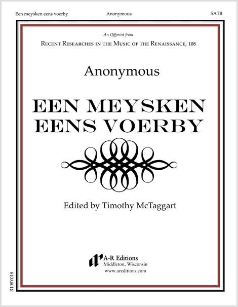 Anonymous: Een meysken eens voerby