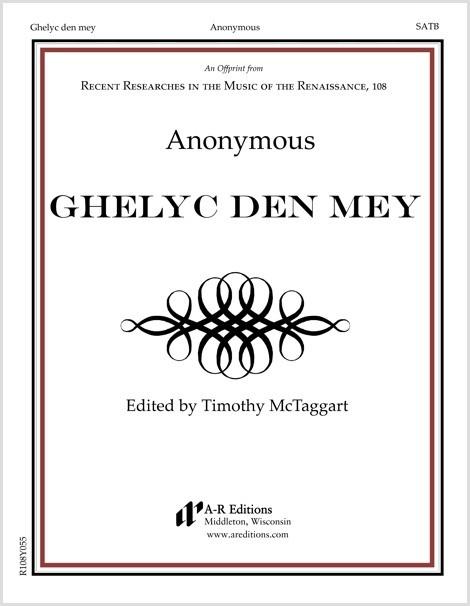Anonymous: Ghelyc den mey
