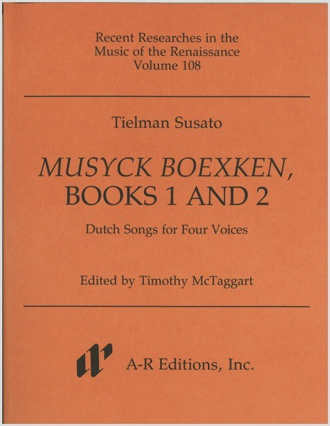 Susato: Musyck Boexken, Books 1 and 2