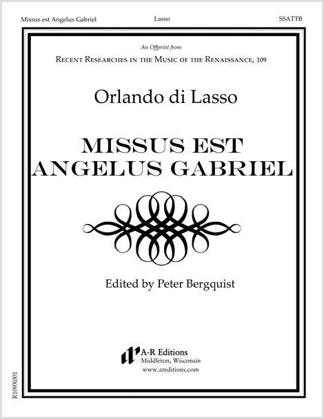 Lasso: Missus est Angelus Gabriel