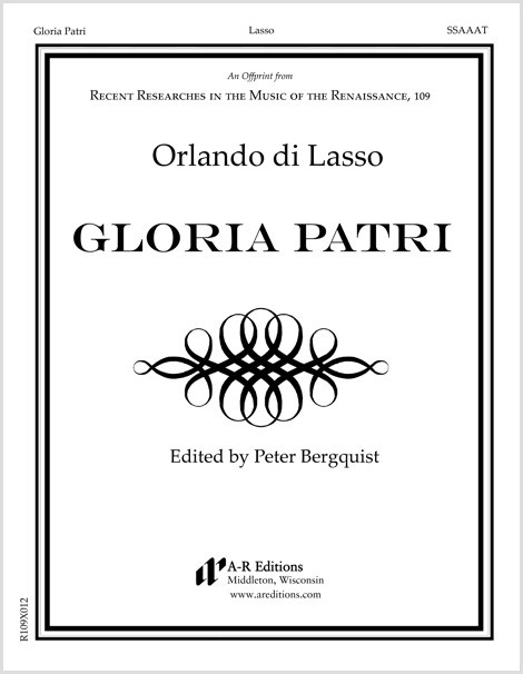 Lasso: Gloria Patri
